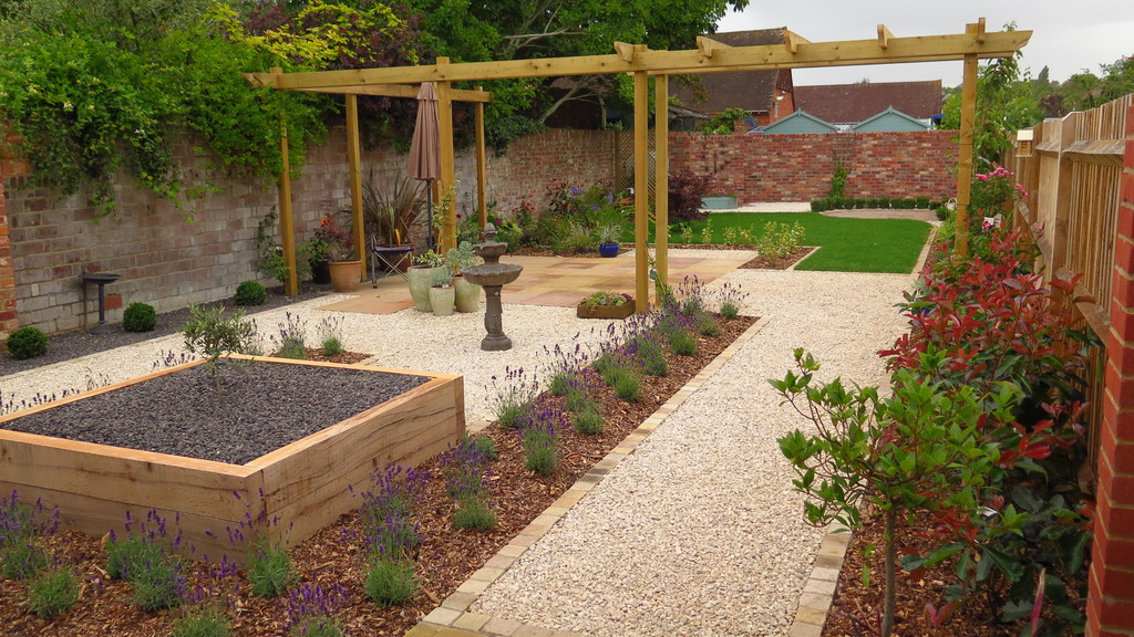Garden Design in Fareham, Hampshire