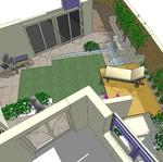 3D garden plan